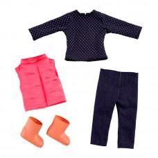 Набор Addo Куртка брюки кофта и обувь для куклы (314-13109)