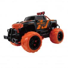 Машинка JP383 Drive of road 1:16 оранжево-черная радиоуправляемая (JP383 HB-YY1601B-1)