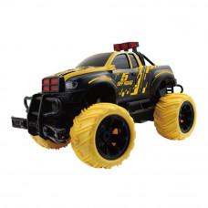 Машинка JP383 Drive of road 1:16 желто-черная радиоуправляемая (JP383 HB-YY1601B-2)