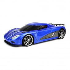 Машинка JP383 Supercar city 1:16 синяя радиоуправляемая (JP383 YD898-J88-1)