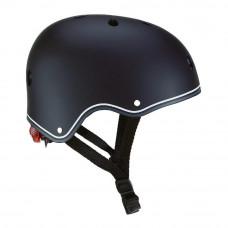 Защитный шлем Globber черный с фонариком  (505-120)