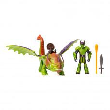 Набор Dragons Как приручить дракона 3 Дракон Крушиголов и викинг Эрет (SM66621/7366)