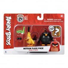 Набор Angry birds Mission flock Бомб и Чак сюрприз (ANB0008)
