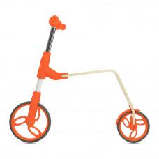 Беговел Jetson Flex wood B01 2 в 1 оранжевый (B01-Orange)