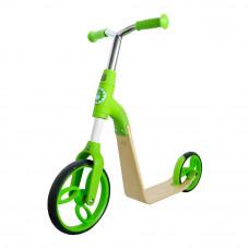 Беговел Jetson Flex wood B01 2 в 1 зеленый (B01-Green)