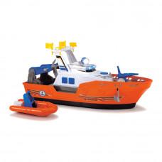 Набор Dickie toys Action Спасательный катер со шлюпкой водомет со светом и звуком (3308375)