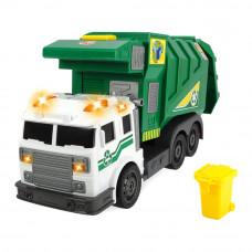 Машинка Dickie toys Action Мусоровоз Чистый город со светом и звуком (3308378)