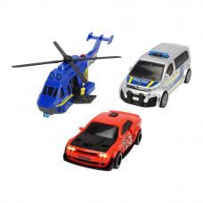 Набор Dickie toys Sos Полицейская погоня со светом и звуком (3715011)