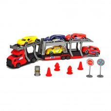 Набор Dickie toys City Автотранспортер с 5 металлическими машинками (3745012)