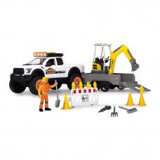 Набор Dickie toys Playlife Строительство дороги со светом и звуком (3838004)