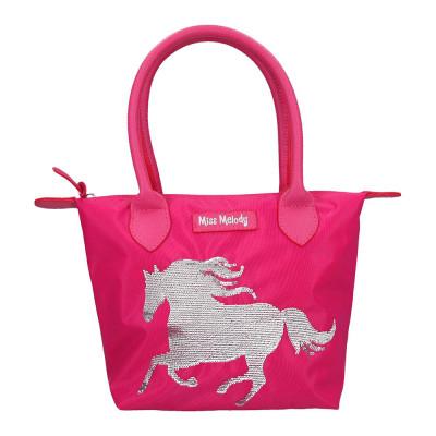 Сумка Top model Мисс мелоди темно-розовая с пайетками (0010607)
