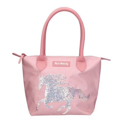 Сумка Top model Мисс мелоди светло-розовая с пайетками (0010627)