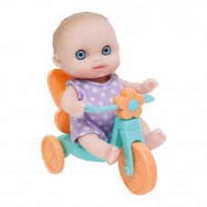 Пупс JC Toys Малыш с голубым велосипедом (4105014/4105014-2)