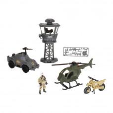Игровой набор Chap mei Солдаты Сторожевая застава (545053)