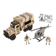 Игровой набор Chap mei Солдаты Грузовая машина (545059)