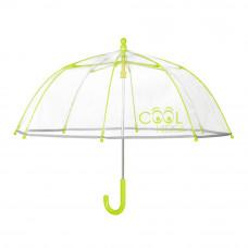 Зонтик Cool kids бело-зеленый (15530)