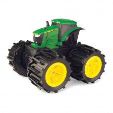 Машинка Tomy John Deere Monster treads Мини трактор с мега колесами (46711)