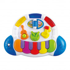 Музыкальная игрушка Baby team Пианино со световым эффектом (8635)