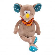 Мягкая игрушка Devilon Мышка с платком бежевая 26 см (M1807526B-3 )