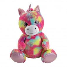 Мягкая игрушка Addo Единорог ярко-розовый 80 см (315-10133-B/1)