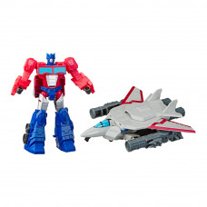 Набор Transformers Cyberverse Спарк броня Оптимус Прайм (E4220/E4328)