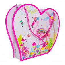 Блокнот Malevaro Фламинго на замочке в коробке с зеркальцем 56 л (D481853)
