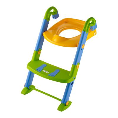 Детское сидение для туалета Rotho Babydesign 3 в 1 со ступеньками (600060099)
