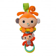 Мягкая игрушка Infantino Hug and tug Обезьянка музыкальная (216325I)