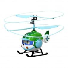 Игрушечный вертолет Robocar Poli Хэли на дистанционном управлении (83390)