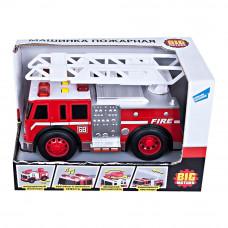 Машинка Big Motors Пожарная служба с эффектами (2018-1AB)