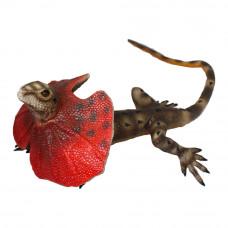 Фигурка Lanka Novelties Плащеносная ящерица 55 см (21550)