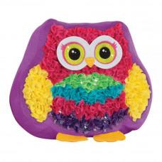 Набор для творчества Laily Toys Декоративная подушка Сова (HSP927951)