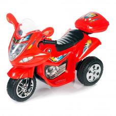 Электромотоцикл Babyhit Маленький гонщик красный (71629)