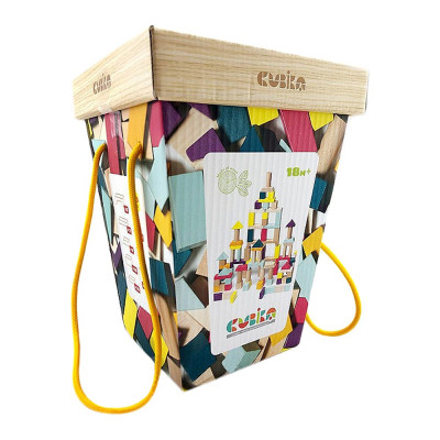 Деревянные кубики Cubika 100 элементов (15184)