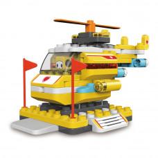 Конструктор Pai bloks Вертолет (61012W)