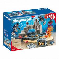 Конструктор Playmobil Super set Тактический дайвинг (70011)