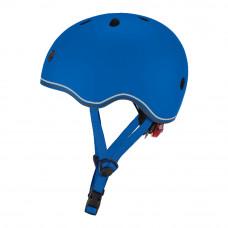 Защитный шлем Globber Evo light синий с фонариком 45-51 см (506-100)