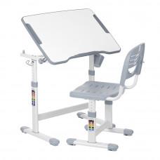 Комплект мебели Evohub Парта и стул серый (202)