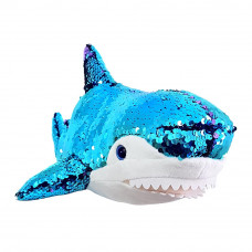 Мягкая игрушка Fancy Акула с паетками 49 см (AKL01P)
