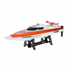Игрушечный катер Fei Lun Оранжевый радиоуправляемый (FL-FT009o)