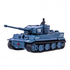 Игрушечный танк Great Wall Toys Тигр на радиоуправлении серый 1:72 (GWT2117-4)