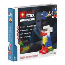 Конструктор Light stax Креатив с LED подсветкой (LS-S12002)