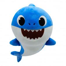 Мягкая игрушка Baby shark Папа акуленка музыкальная (PFSS-08003-01)