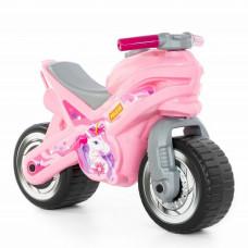 Толокар Polesie Розовый мотоцикл MX (80608)