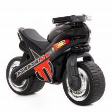 Толокар Polesie Черный мотоцикл MX (80615)