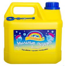 Мыльные пузыри Bubbleland Три литра (MP3000)