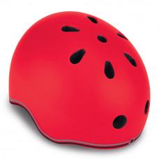 Детский защитный шлем Globber Evo lights красный с фонариком 45 – 51 см (506-102)