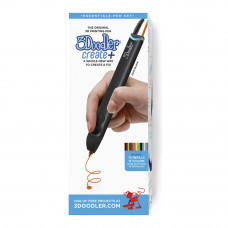 Набор 3Doodler Create plus Черная 3D-ручка и 75 стержней (8CPSBKEU3E)