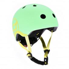 Детский шлем Scoot & Ride Киви 51 – 55 см с фонариком (SR-181206-KIWI_S)