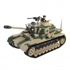 Конструктор COBI Танк Тигр IV 500 деталей (COBI-2508A)